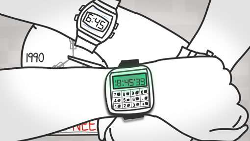 Calculator Watches!
